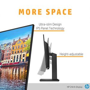 HP 24mh Monitor Review with Specification, 23.8-inch IPS Display Bonus Review