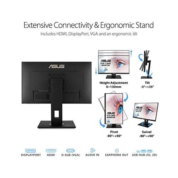 ASUS VA24DQLB Monitor Review with Specification